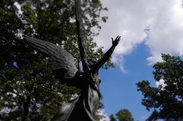 Valentine Angel Green-Wood Cemetery Brooklyn